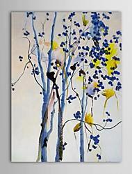abordables -Peinture à l'huile Hang-peint Peint à la main - Paysage Contemporain Toile