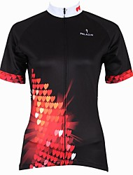 cheap -ILPALADINO Cycling Jersey Women's Short Sleeve Bike Jersey Tops Quick Dry Ultraviolet Resistant Breathable 100% Polyester CartoonSpring