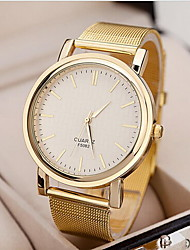 cheap -Women's Watch Fashionable Golden Case Alloy Band  Cool Watches Unique Watches Strap Watch
