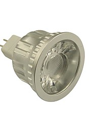 GU5.3(MR16) LED Spotlight MR16 1 leds COB Dimmable Warm White Cold White 500-550lm 2800-3000/6000-6500K DC 12V