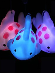 cheap -Coway Mobile Phone Pendant Colorful Fish LED Nightlight