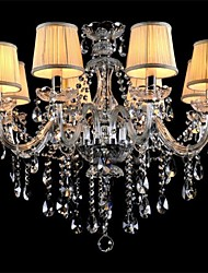 cheap -LWD Candle-style Chandelier Crystal, Mini Style, 90-240V / 110-120V / 220-240V Bulb Not Included / 20-30㎡ / E12 / E14