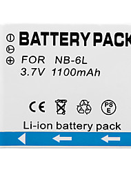 1100mah 3.7v Digitalkamera Mini dv Batttery für Kanon nb - 6l