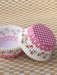 Недорогие -Корзина Розовая бумага Фавор держатель С Упаковка и коробки для кексов