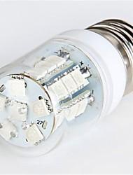 E26/E27 LED Corn Lights T 27 leds SMD 5050 300lm Blue AC 220-240