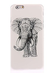 cheap -Case For Apple iPhone 6 iPhone 6 Plus iPhone 7 Plus iPhone 7 Pattern Back Cover Elephant Hard PC for iPhone 7 Plus iPhone 7 iPhone 6s
