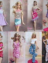 Party/serata Abiti Per Bambola Barbie Abiti Per Ragazza Bambola giocattolo