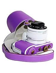abordables -dengpin® de cuero cubierta de la bolsa estuche protector cámara patrón de litchi estilo de carga para Samsung NX3000