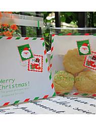 10 Pezzo/Set Porta-bomboniera-Creativo Confezioni per biscotti Non personalizzato