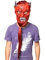 Недорогие -длинные волосы Хеллбой латекс маска для Хэллоуина партии (1 шт)