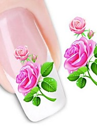 Water Transfer Printing Nail Stickers XF1351