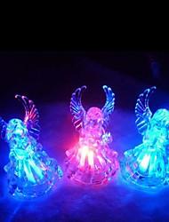Недорогие -привело изменение цвета прозрачный ангел в форме мини-легкие Хэллоуин реквизит