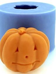 Недорогие -Хэллоуин тыква помадкой торт шоколадом свечи силиконовые формы, l4.2cm * w4.2cm * h3.5cm