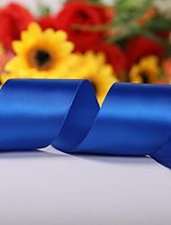 preiswerte -Einfarbig 2-Zoll-Satin Ribbon- 50 Meter pro Rolle (mehr Farben)