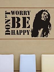wall stickers Vægoverføringsbilleder, så fortvivl ikke være glad pvc wall stickers