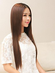 cheap -Long Synthetic Straight And Clip in Hair Extensions with 5 Clips