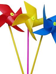Недорогие -100шт 20см красочные четыре угла мельница детские игрушки