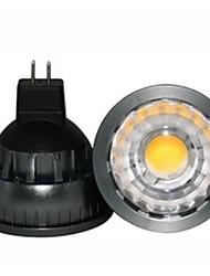 abordables -1pc gu5.3 (mr16) proyector led a60 (a19) cob 500lm blanco cálido 2800-3000k regulable dc 12v