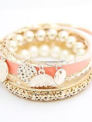 KL Wonen er Sydkorea boheme perle mønt elegante armbånd