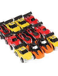 Недорогие -12шт дети весело мини фотоэлектрический ускорить Вытяните назад автомобиль игрушки дрейф в