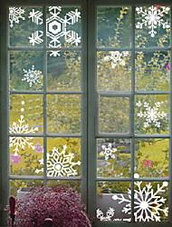Art Deco Contemporary Window Sticker,PVC/Vinyl Material Window Decoration