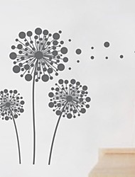 Wall Stickers Wall Decals, Home Decoration Dandelion PVC Wall Stickers