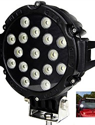 "cheap -Liancheng® 6.3"" 51W 5100Lumens Super Bright LED Work Light for Off-road,Tractor,UTV,4WD,SUV"