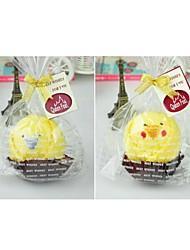 Недорогие -подарок на день рождения курица форма волокна творческой полотенце (случайный цвет)
