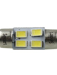 cheap -31mm Car Light Bulbs 2W SMD 5730 120-160lm 4 LED Interior Lights For universal