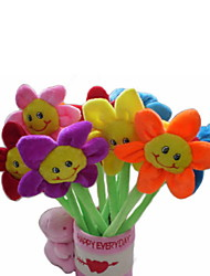 cheap -6PCS New Beauty Plush Sunflower Pens