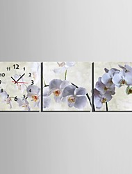 cheap -Modern/Contemporary Canvas Square Indoor,AA Wall Clock