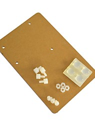 cheap -KEYES OR0199 Universal Acrylic Board for Arduino UNO R3 - Transparent