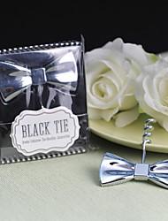 """Geschenk groomsman """"black tie"""" Fliege Korkenzieher"""