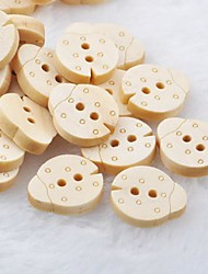 Недорогие -жуки ЗАПИСКИ scraft швейные поделки деревянные кнопки (10 шт)