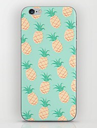 cheap -For iPhone 7 Plus Small Blue Pineapple Pattern hard Case for iPhone 6s 6 Plus