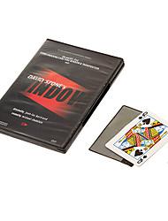 Недорогие -Окно Дэвид камня изменить карту через стекло магических реквизит с DVD