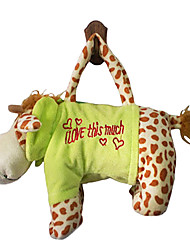 Giraffe Design Plush Toys Soft Hand Bag