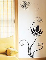 pared calcomanías pegatinas de pared, flor cartel mural Decoración PVC pegatinas de pared