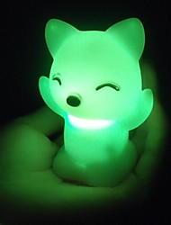 billige Originale lamper-3D nattlys Vanntett Batteri PVC 1 Lampe Batterier Inkludert 7.0*7.0*6.0cm