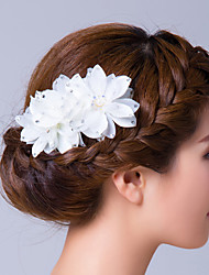Недорогие -кубический цирконий ткань цветы булавка булавка элегантный стиль