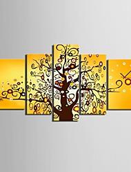 la couleur de l'horloge de l'arbre de toile dans 5XAnti
