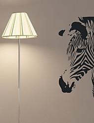 decalcomanie della parete adesivi murali, zebra arredamento casa adesivi murali kidsroom murale pvc
