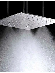 cheap -Contemporary Rain Shower Brushed Feature-Rainfall , Shower Head