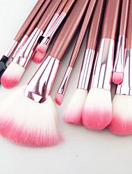 abordables -22pcs Pinceaux à maquillage Professionnel ensembles de brosses Pinceau en Nylon / Poil Synthétique / Autres Gros Pinceau / Pinceau Moyen