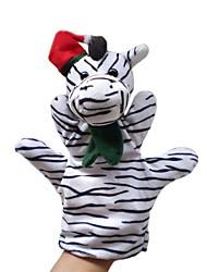 Marionnette de Doigt Jouets Cheval Zébré Animaux Nouveauté Garçon Fille Pièces