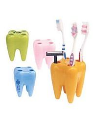 Недорогие -Подставки для зубных щеток Для душа Пластик Многофункциональный / Экологически чистый / Подарок