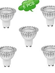 5W GU10 LED Spot Lampen MR16 1 COB 400-500 lm Warmes Weiß Natürliches Weiß K AC 85-265 V
