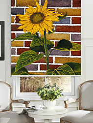 cheap -Beautiful Sunflower Roller Sahde