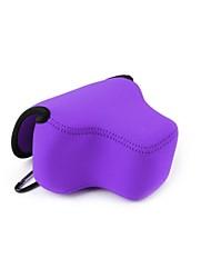 neoprene pajiatu® fotocamera morbido sacchetto sacchetto custodia con il triangolo di protezione interna per HS PowerShot SX60 (colori assortiti)