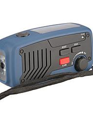 Недорогие -многофункциональный аварийного освещения работает динамо сотовые телефоны зарядное устройство радио